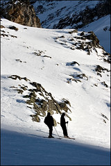Enjoying the view from the top (Rene Brask) Tags: mountain snow landscape switzerland flickr skiing engelberg offpiste