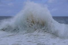 Wave Fauxhawk (ScottS101) Tags: boy male hawaii surfer tan wave teen foam impact kauai boardshorts athlete olas hombre hommes bodyboard shorebreak surfista sponger kaenabeachpounding