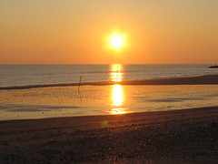 Banc de sable brillante (Inatil) Tags: sunset sun denmark fabulous 1001nights the4elements abigfave goldstaraward thebestsunset dragonsdanger