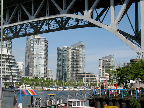 Yaletown and Granville Street Bridge