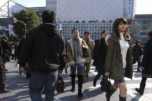 見慣れた街の中で 渋谷
