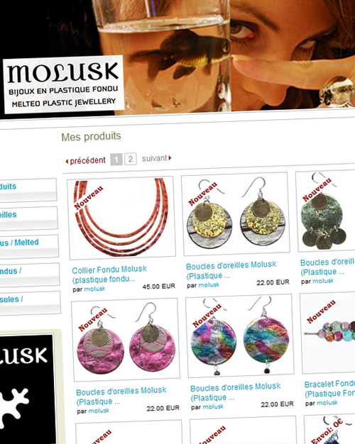 Dawanda - Molusk Shop - Février 2009