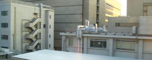 Rooftop Seen from Shinkansen