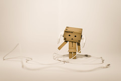 Boppin' to Nothin' (craigmdennis) Tags: ipod headphones danbo