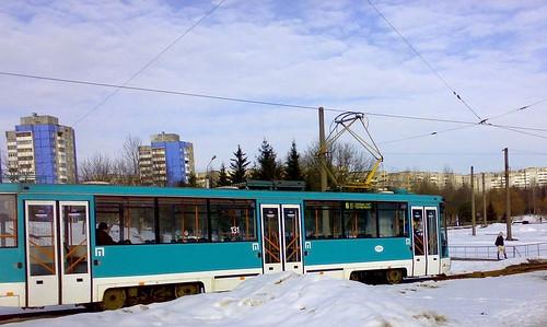 Belorussian tram