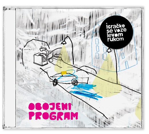 Oobojeni Program - Igračke se voze levom rukom CD Sleeve