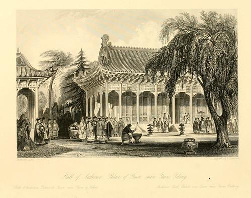 001- Sala de audiencias del palacio de Yuen en Pekin