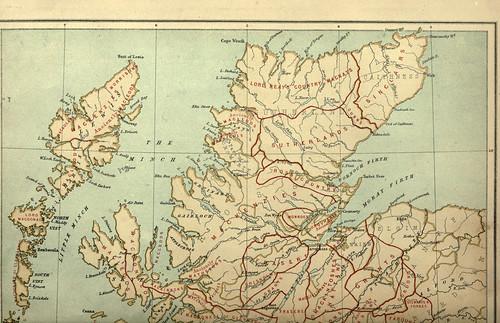034-Distribucion territorial de los clanes escoceses a partir del s.XVII parte1