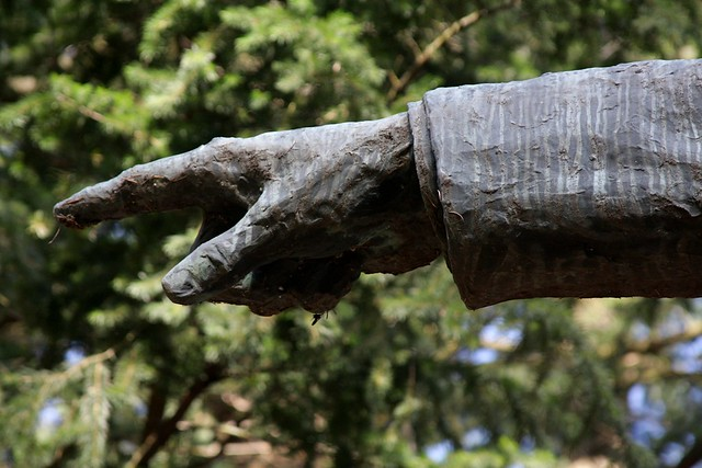 Harvey Scott statue, Mt. Tabor