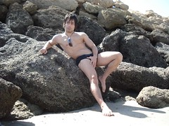 qeshm beach 5 (ekbatan_guy) Tags: sea sexy beach iran cuteboy 6pack qeshm 8pack