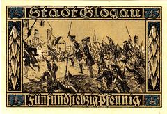Glogau, 50 pf, 1920 (Iliazd) Tags: germany inflation notgeld papermoney germancurrency emergencymoney 19171922 germanpapermoney