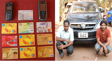 Fake Credit Cards Racket