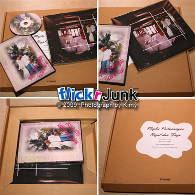 custom album packing