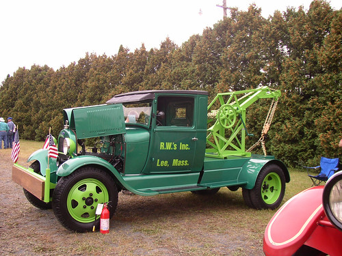 Old Ford Tow Truck 1 by Cramit.