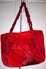 Crazy Patch Tote Bag