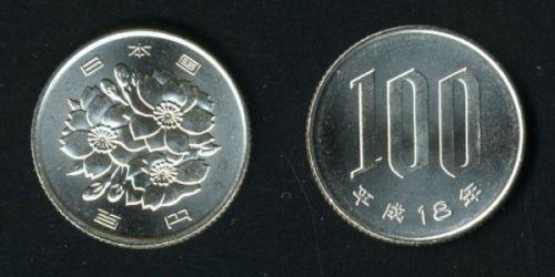 Монеты с изображением Сакуры