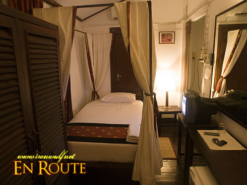 Lao Heritage Hotel Single Bed