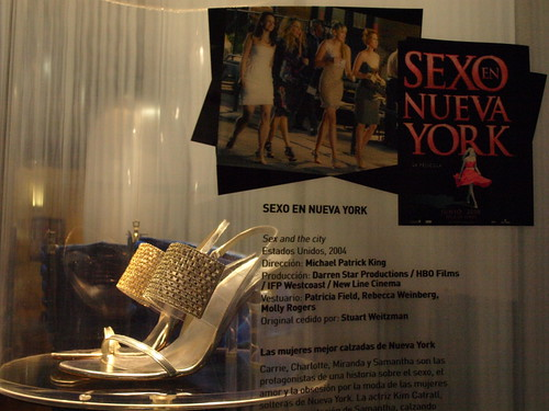 Sexy and sparkling; Samanthas shoes from Sex and the City