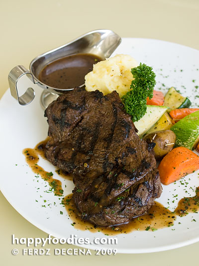 Pepper Tenderloin Steak (Single 200grams - Php 895, Family 500grams - Php 2050)