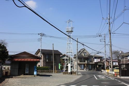 豊田本の火の見櫓