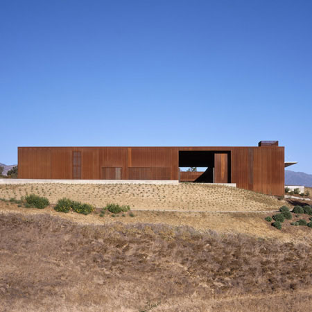 single family residence project Santa Ynez 12