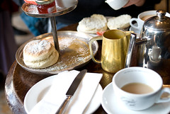 Cream Tea, Grand Cafe, Oxford