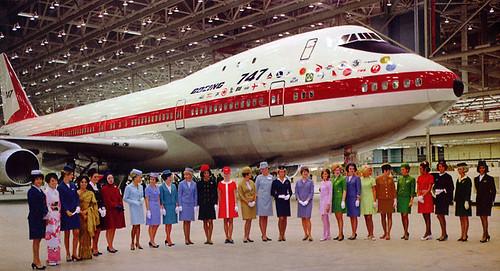 747 Flight Attendants