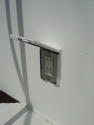 Babyproofing electrical outlets