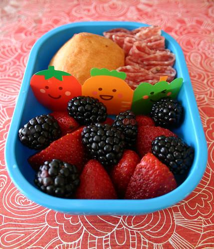 Preschooler Bento #161: March 30, 2009