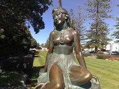 Pania of the Reef (Betchaboy) Tags: newzealand sculpture statue bronze napier pania
