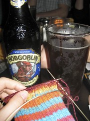 Knitting and Beer