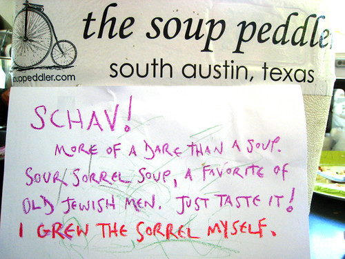 The Soup Peddler is a Funny Man