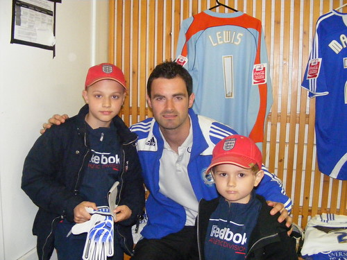 Kane and Charley with Joe Lewis