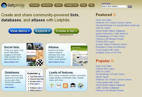 listphile
