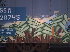 Plantrees (The Ghost With The Most) Tags: trees plant train graffiti plantrees frieght