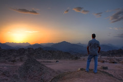 Valley of Mandar (**Anik Messier**) Tags: sunset mountains silhouette bravo egypt valley soe hdr coucherdesoleil montagnes birdman valle gypte blueribbonwinner mywinners worldbest citrit valleyofmandar