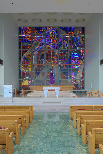 Saint Ann's Roman Catholic Church, in Normandy, Missouri, USA - sanctuary