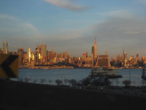 Sparkling City Skyline, Spring Evening by you.