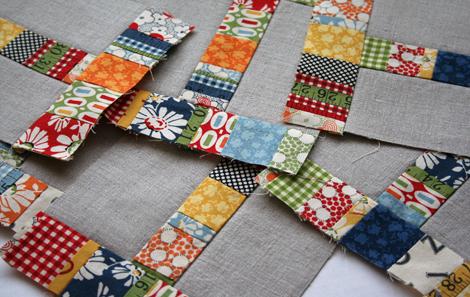 linen & patchwork, wip