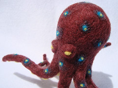 Needle-Felted Octopus 2