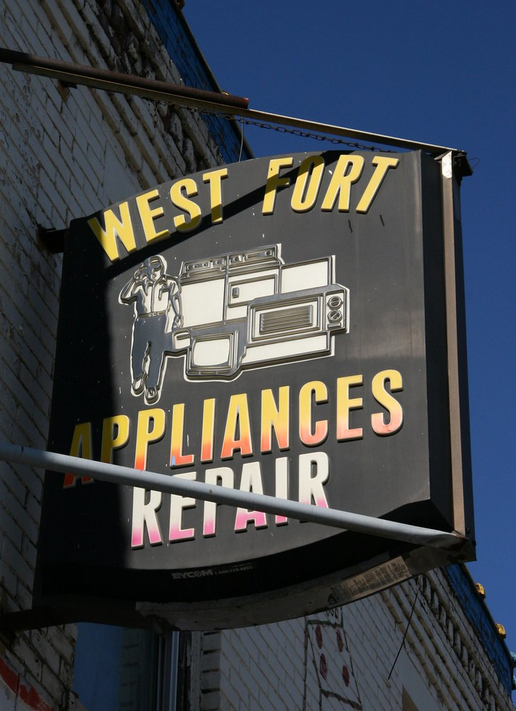 Appliances & Repair sign