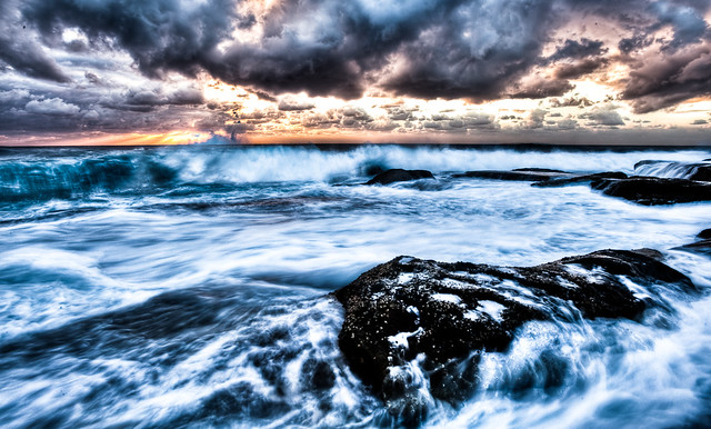 Kurnell HDR Seascape