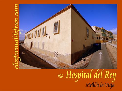 Hospital del Rey, Melilla la Vieja