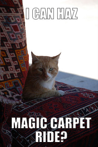 Magic Carpet Ride?