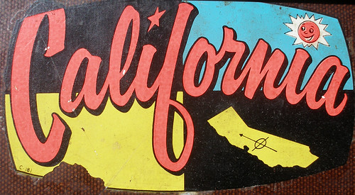 California Decal by eggchairsteve
