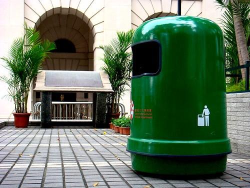 jimwang0813 拍攝的 垃圾桶。