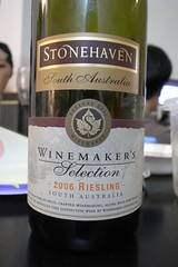 2006 Stonehaven South Australia Winemaker's Selection Riesling