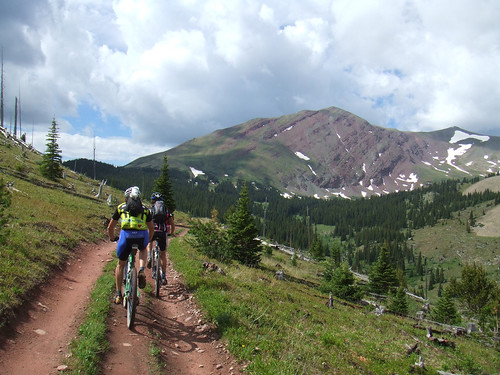 Training in Breck, July '08