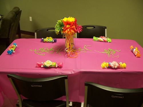 Simple Table Decorations