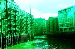 Shad Thames (sean_mcgarr) Tags: urban london buildings xpro crossprocessed slidefilm filter expiredfilm russiancamera zenitem kodakektachromee200 sovietcamera tairzoomlens